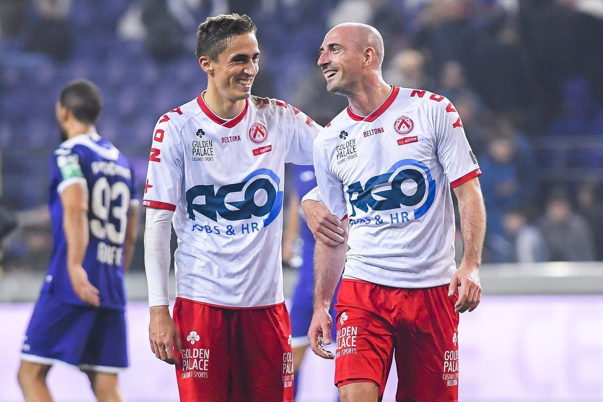 Julien De Sart en Christophe Lepoint zijn twee schakels van het sterke middenveld van KVK.