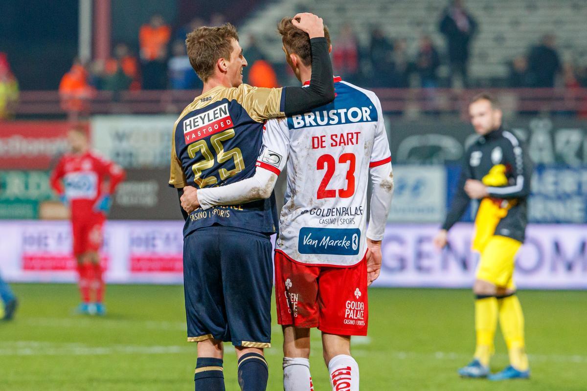 De broers Julien en Alexis De Sart staan zaterdag opnieuw oog in oog: