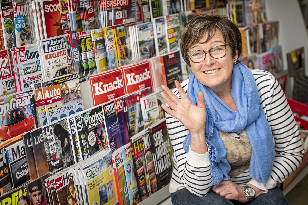 Martine weet het zeker: na haar pensioen blijft ze de krant lezen.