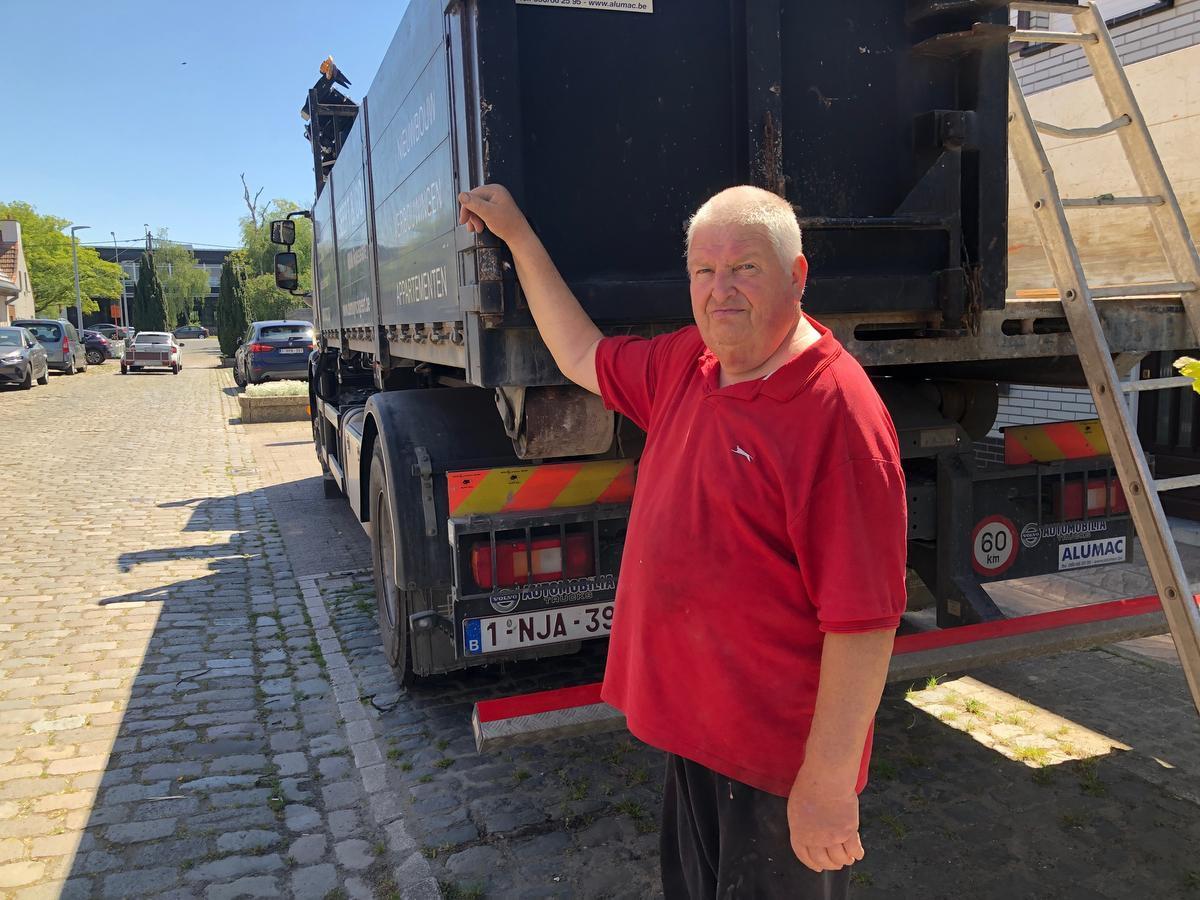 Werner Demuynck werkt nog altijd, al is hij inmiddels 76.