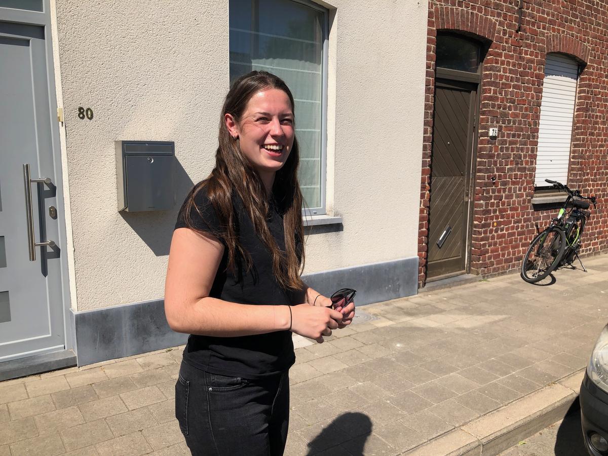 Joyce Vandecasteele studeert restaurantmanagement in Brugge.