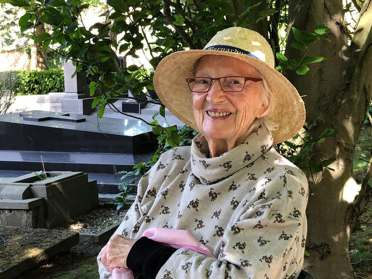 Magda Ducheyne lijkt uit zachtheid en liefde opgetrokken.