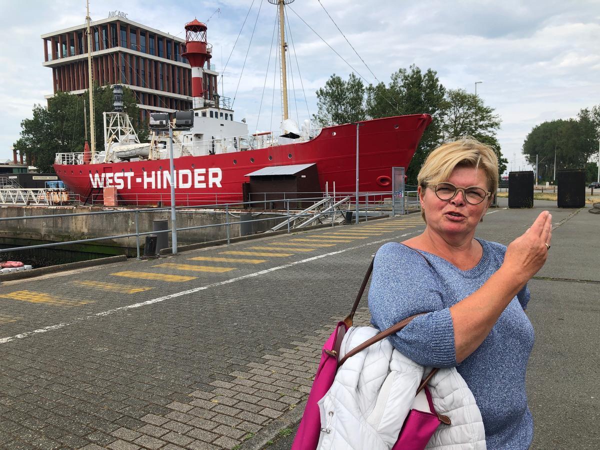 Marie-Cathérine Devisch is van Dudzele, maar van kindsbeen af verblijft ze heel vaak in Zeebrugge.