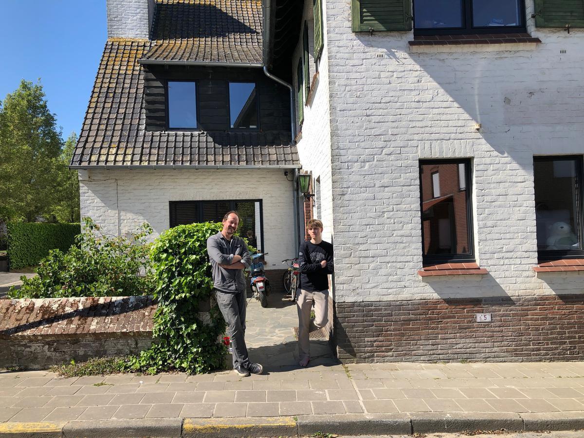 Bavo en Seppe van 't Folk in Dranouter: