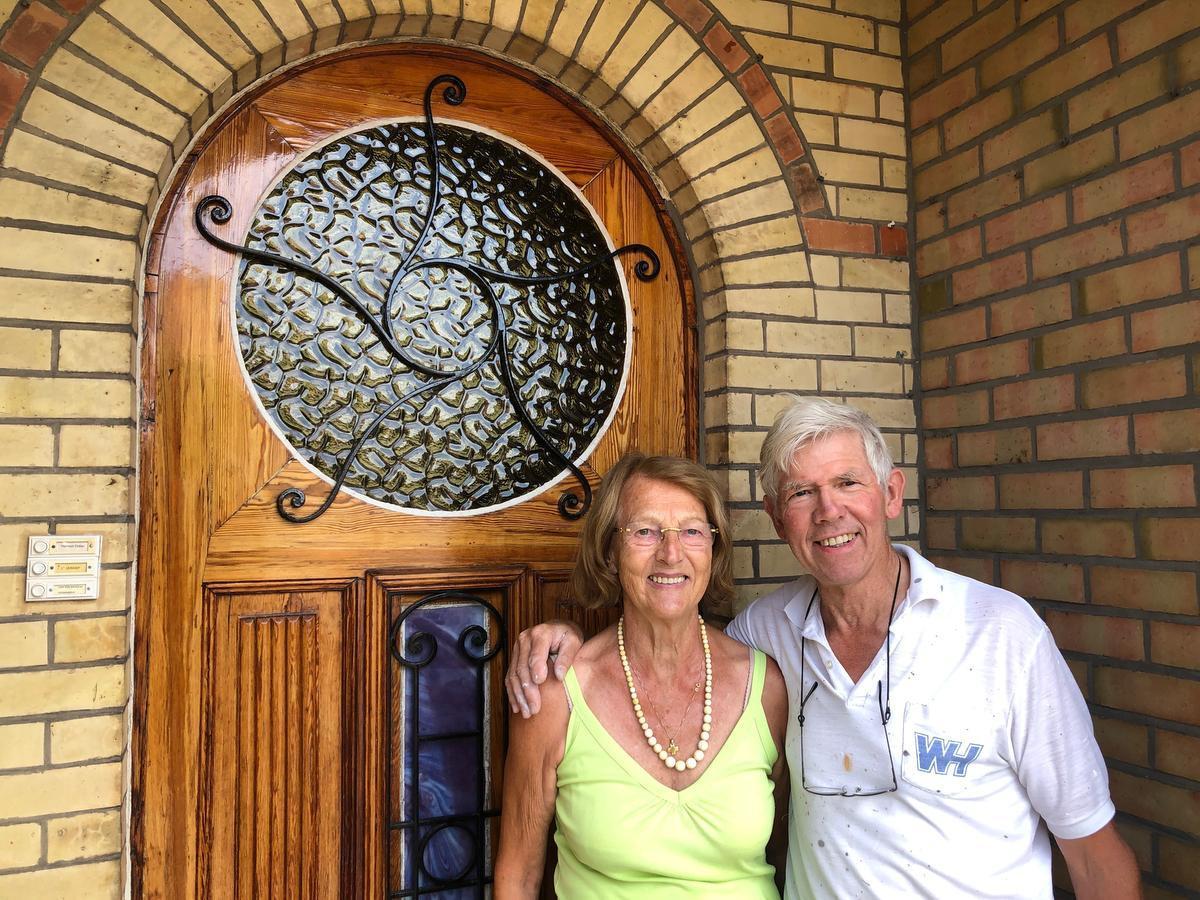 Freddy Van den Broucke en Rosa Vermander.