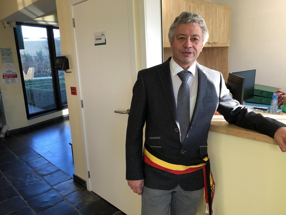Burgemeester Gerard Liefooghe.