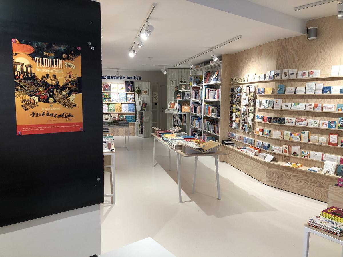 Boekhandel Etiket, een grote zaak voor kleintjes.