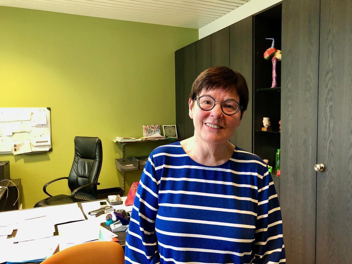 Carine Dewaele, burgermoeder van Lendelede.