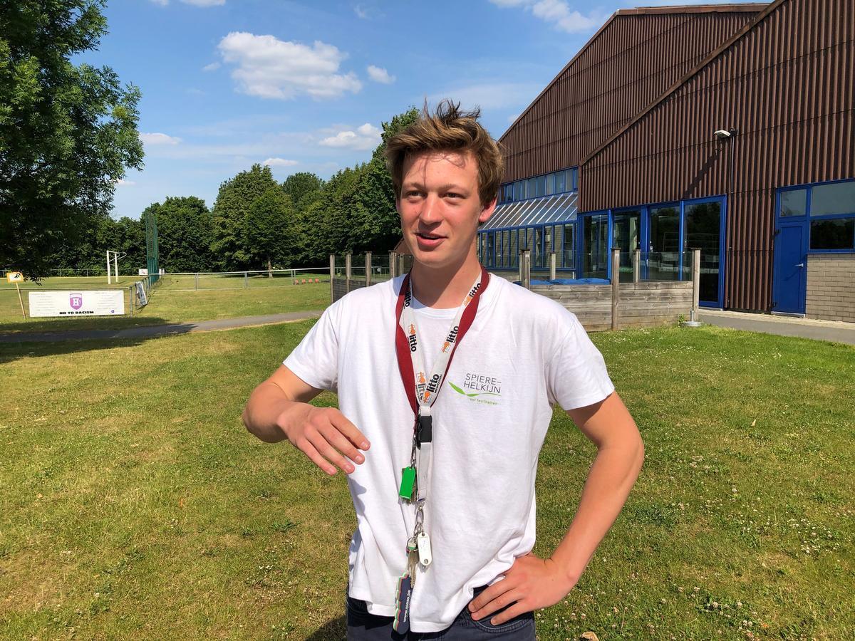 Sven Vandekerckhove traint de U21 van Jong-Helkijn.