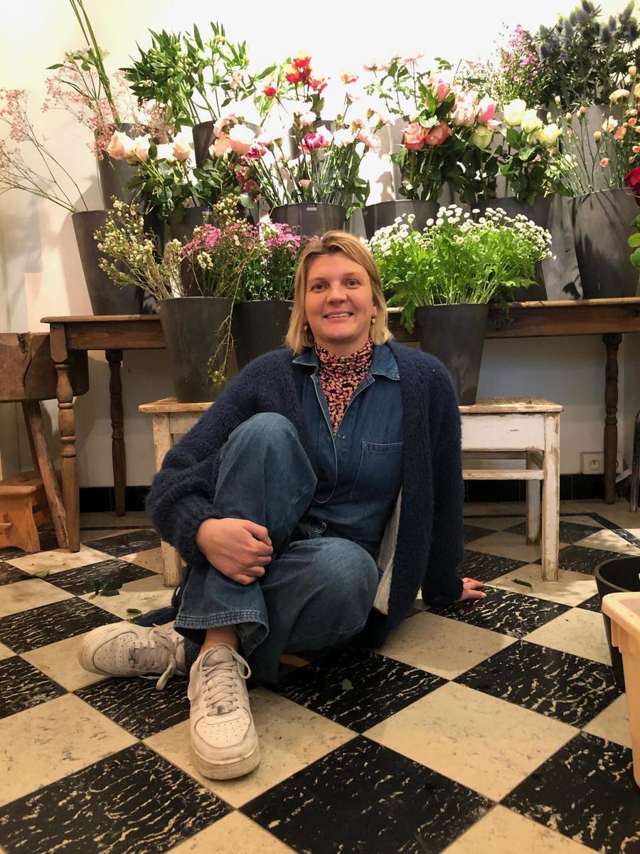 Wildboeketten zijn het handelsmerk van bloemiste Valerie Verbeke.