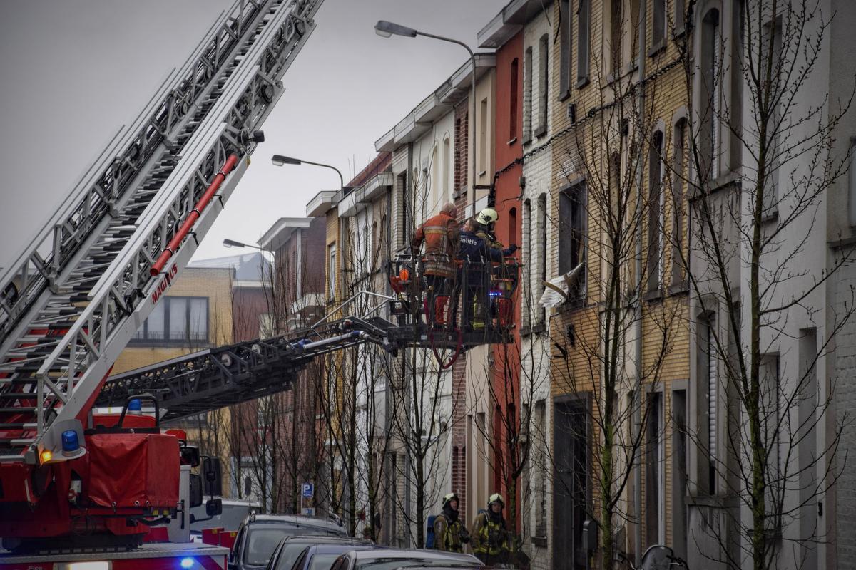 Het lichaam van Peter Caesens werd op de eerste verdieping van de woning gevonden.