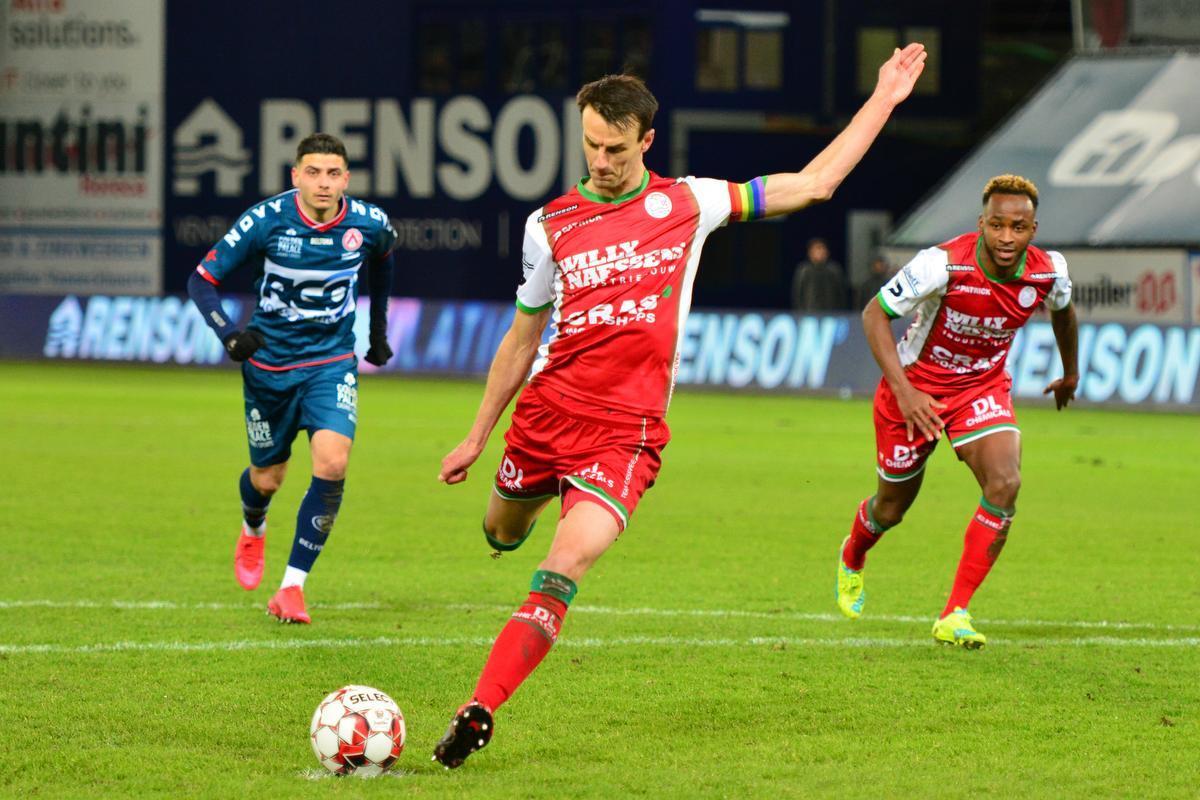 Davy De fauw scoorde vorig weekend vanop de stip tegen KV Kortrijk.