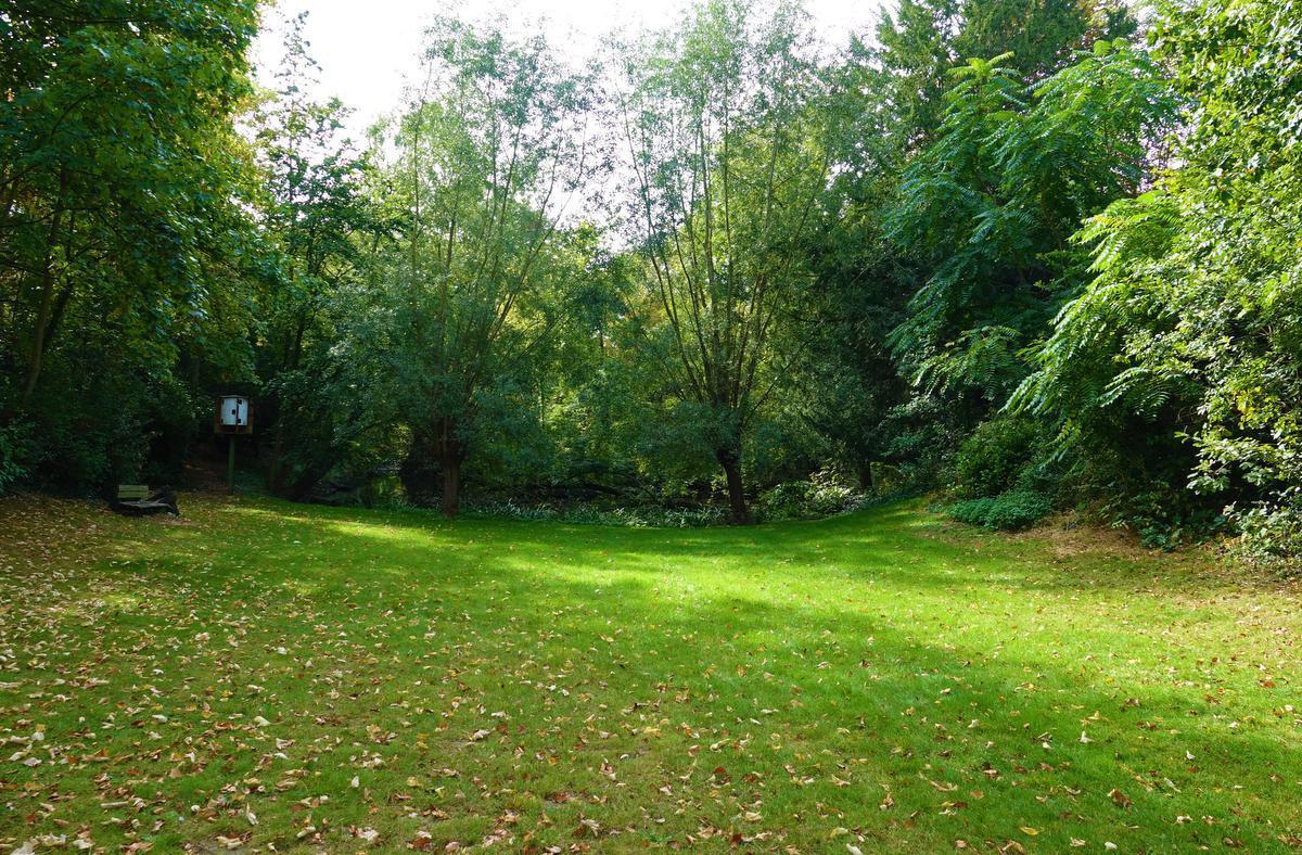 In de tuin zou er plaats zijn voor kleine optredens, foodtrucks of zelfs overnachtingen.