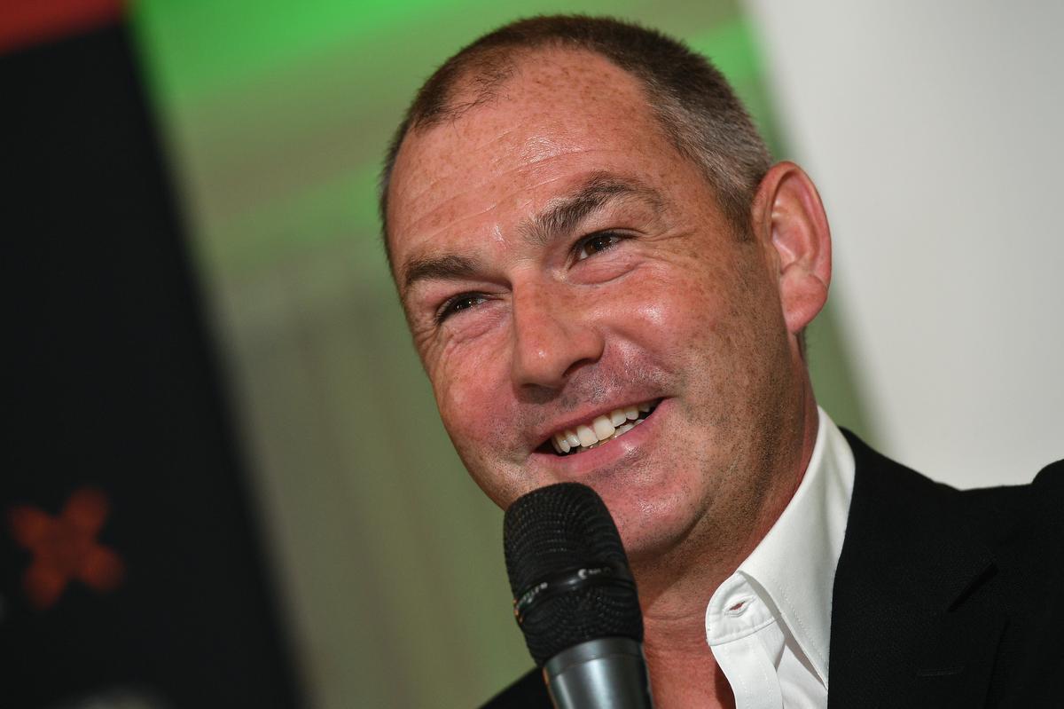 Paul Clement is de eerste Engelse coach ooit van Cercle. (foto Belga)