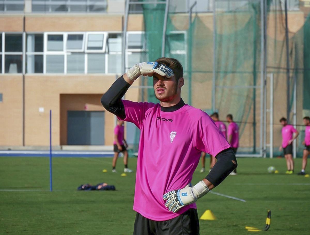 Juliaan Laverge op training.