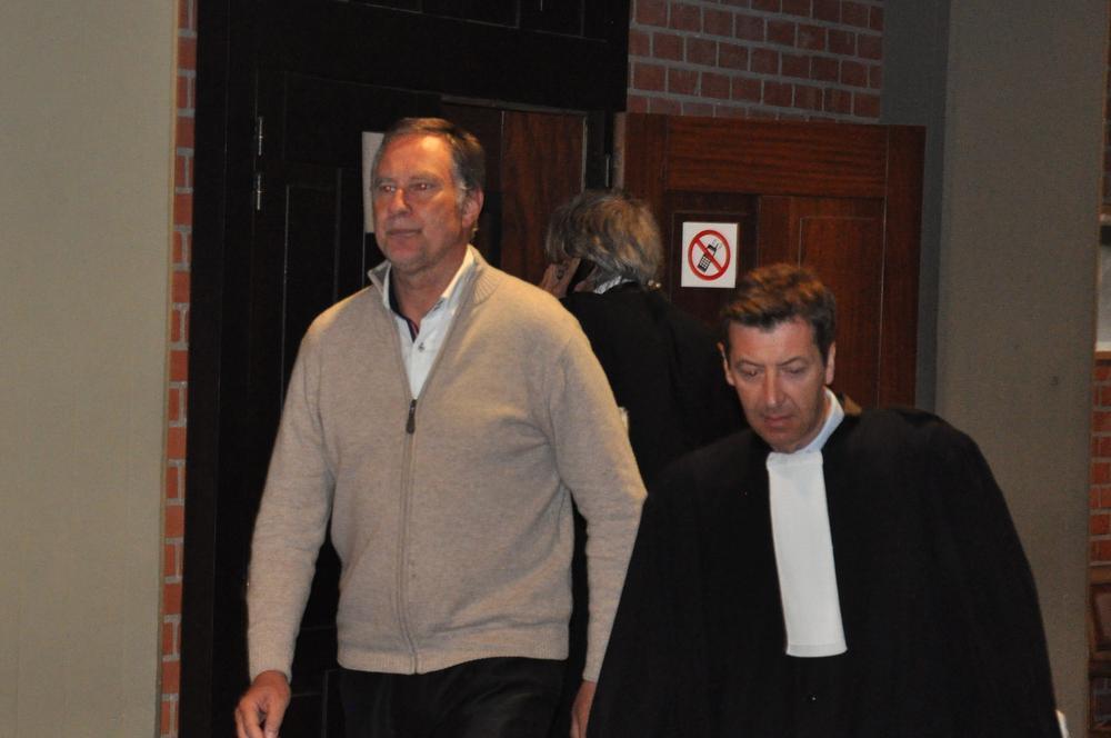 Notaris Bruno Gerin werd veroordeeld tot een 9-jarige gevangenisstraf voor het verkrachten van een 19-jarig meisje.