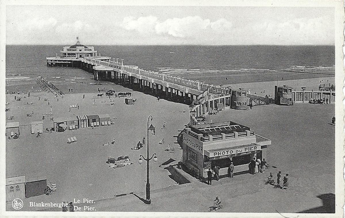 De pier in de jaren dertig.