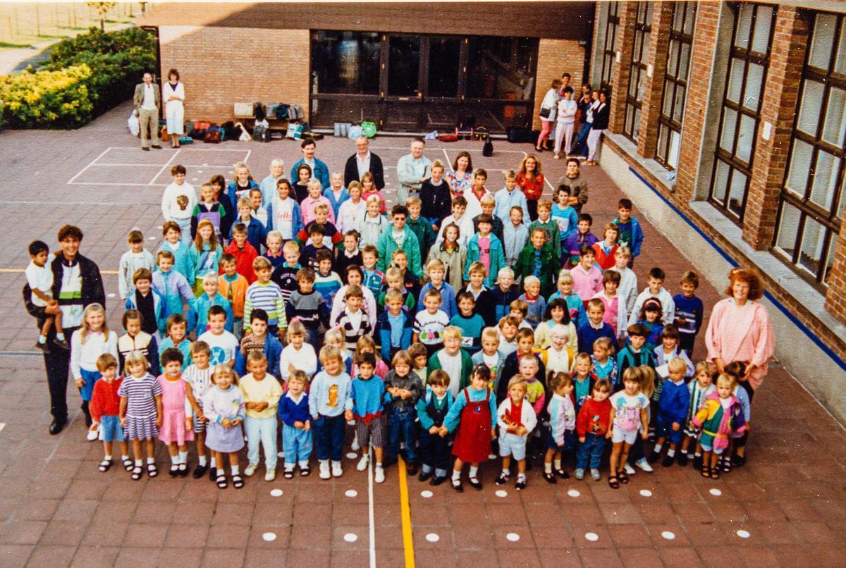 Filiep Roose was er al bij toen de school in Zuienkerke in 1989 het levenslicht zag.