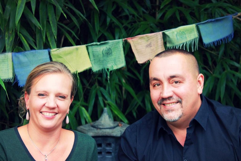 Traumapsycholoog Erik de Soir, samen met zijn echtgenote en rouwexperte Lies Scaut. (GF)