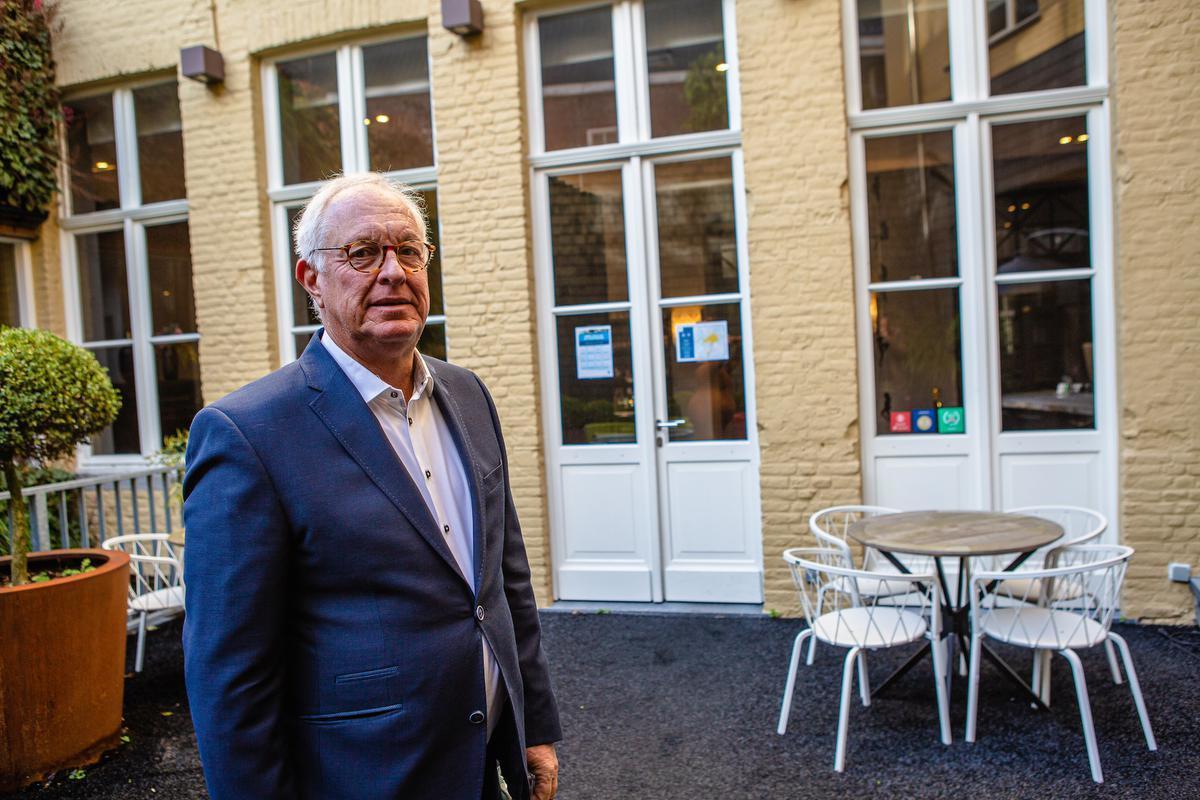 Christophe Vanswieten van Boutique Hotel Sablon.