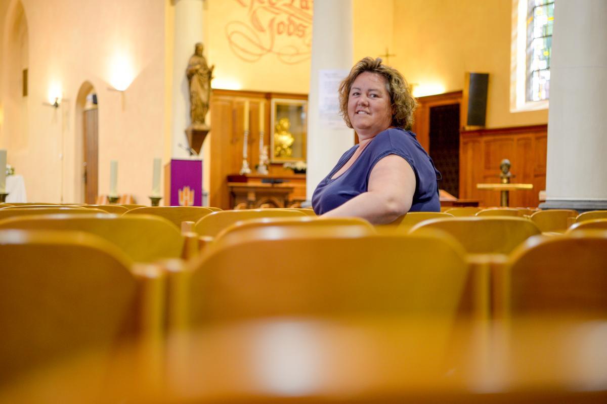 Parochiaal medewerkster Isabelle Busschaert uit Izegem.