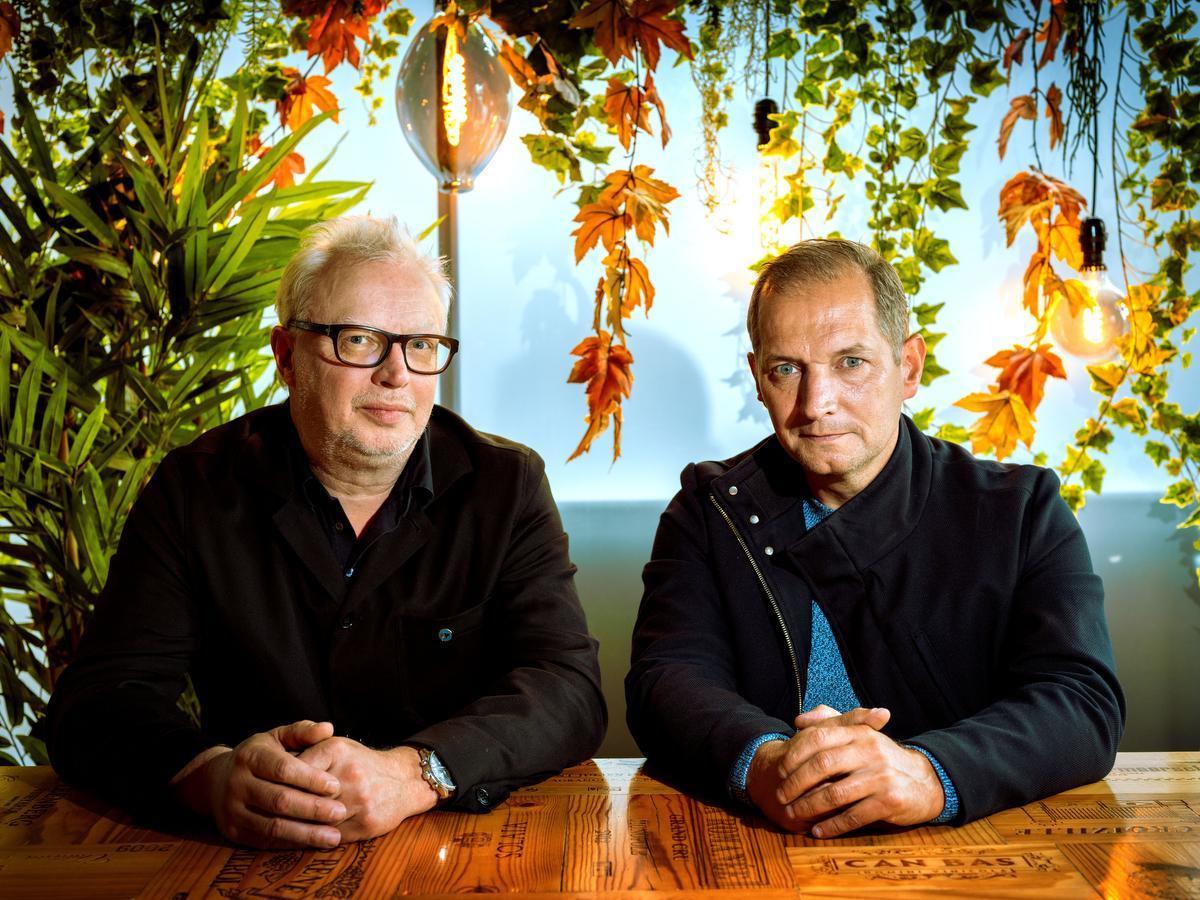 Stijn Meuris en Karl Vannieuwkerke: