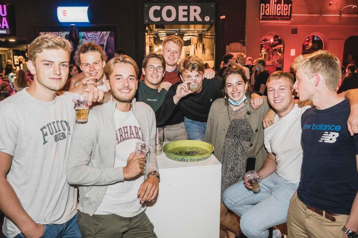 Een vriendengroep uit Gistel en Oostende maakte er het beste van.