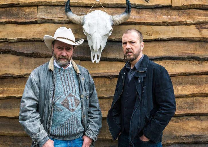 Met zijn 'copain' Wim Willaert als de broers Laurent en JP Berger in 'Undercover.
