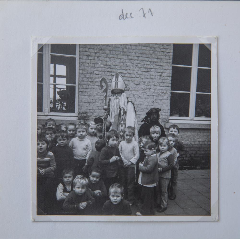 Luc Verstraete hier als sinds in het jaar 1971.