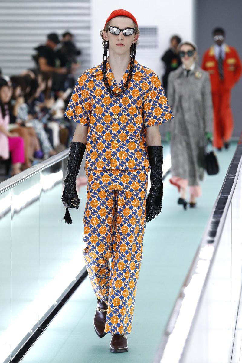 Zomer 2020 Gucci (Foto Getty )