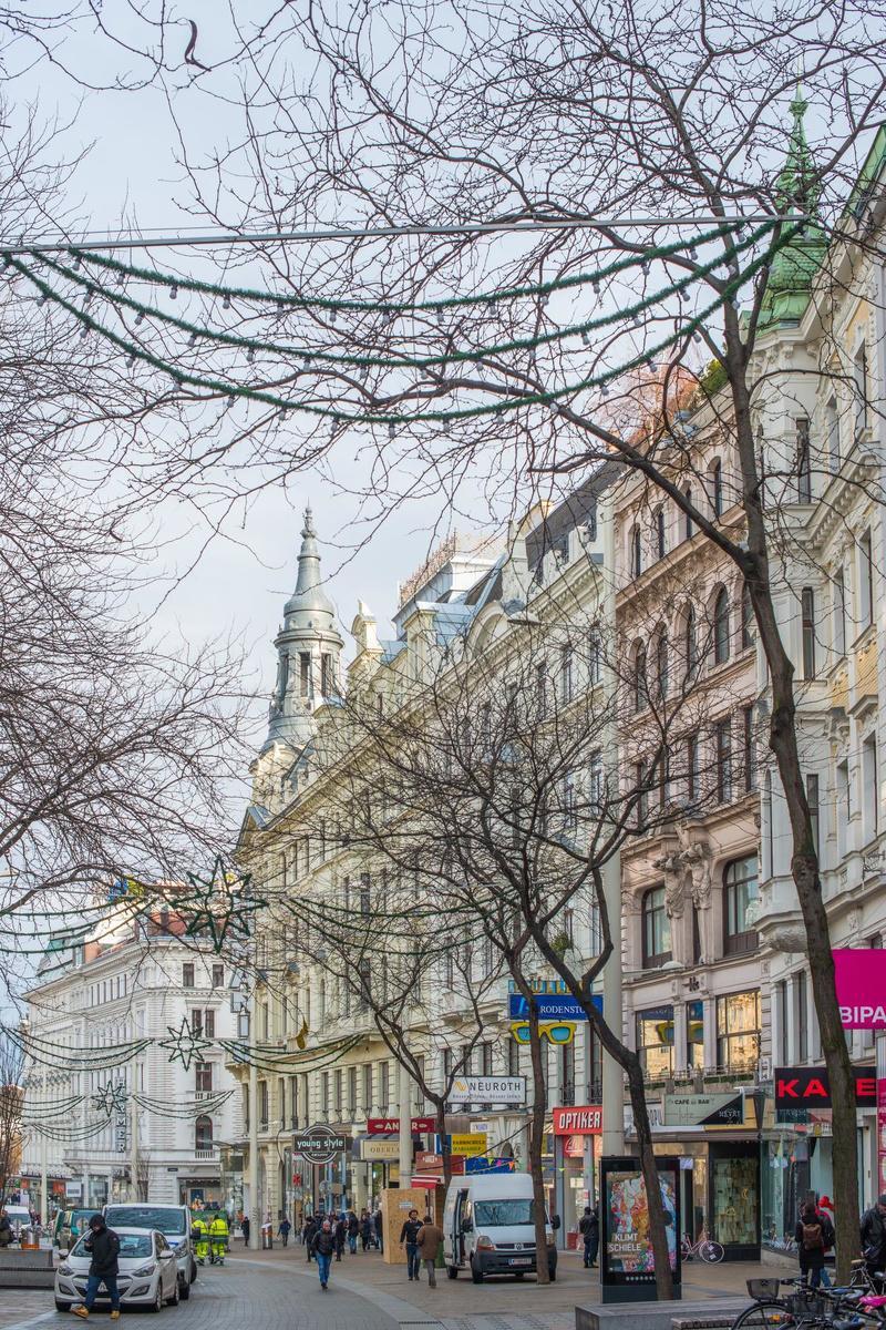 Voor vintage en internationale labels is de Mariahilfer Strasse in Wenen de place to be.
