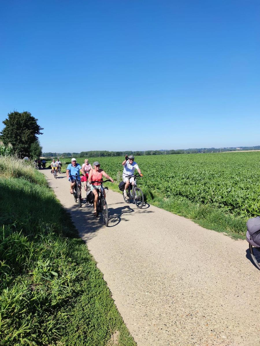 IN BEELD - Onze lezers trokken vier dagen al fietsend door Limburg