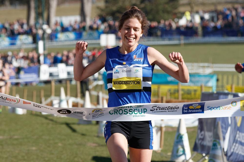 Hanna Vandenbussche is regerend Belgisch kampioene, maar liep vijf weken geleden nog een marathon. (Belga)