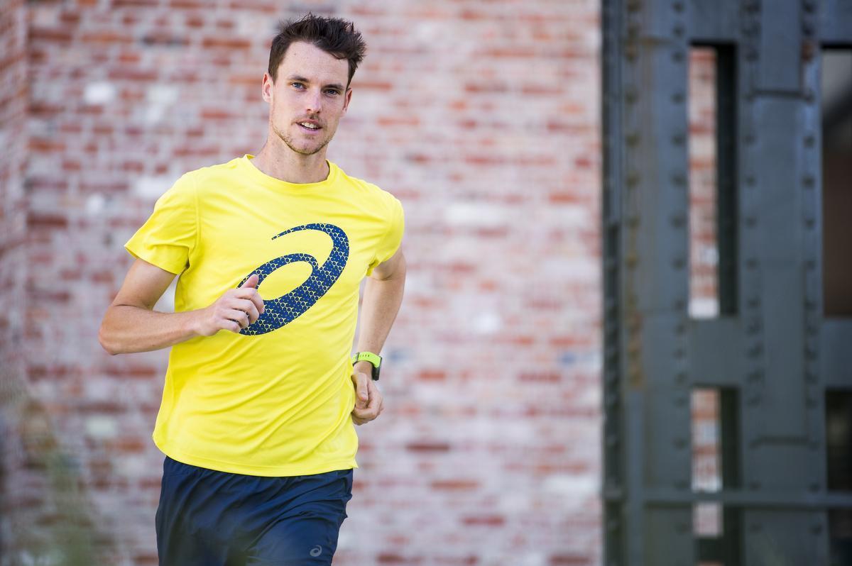 Marathonloper Koen Naert was zich al twee jaar op de Olympische Spelen aan het voorbereiden. (foto Belga)