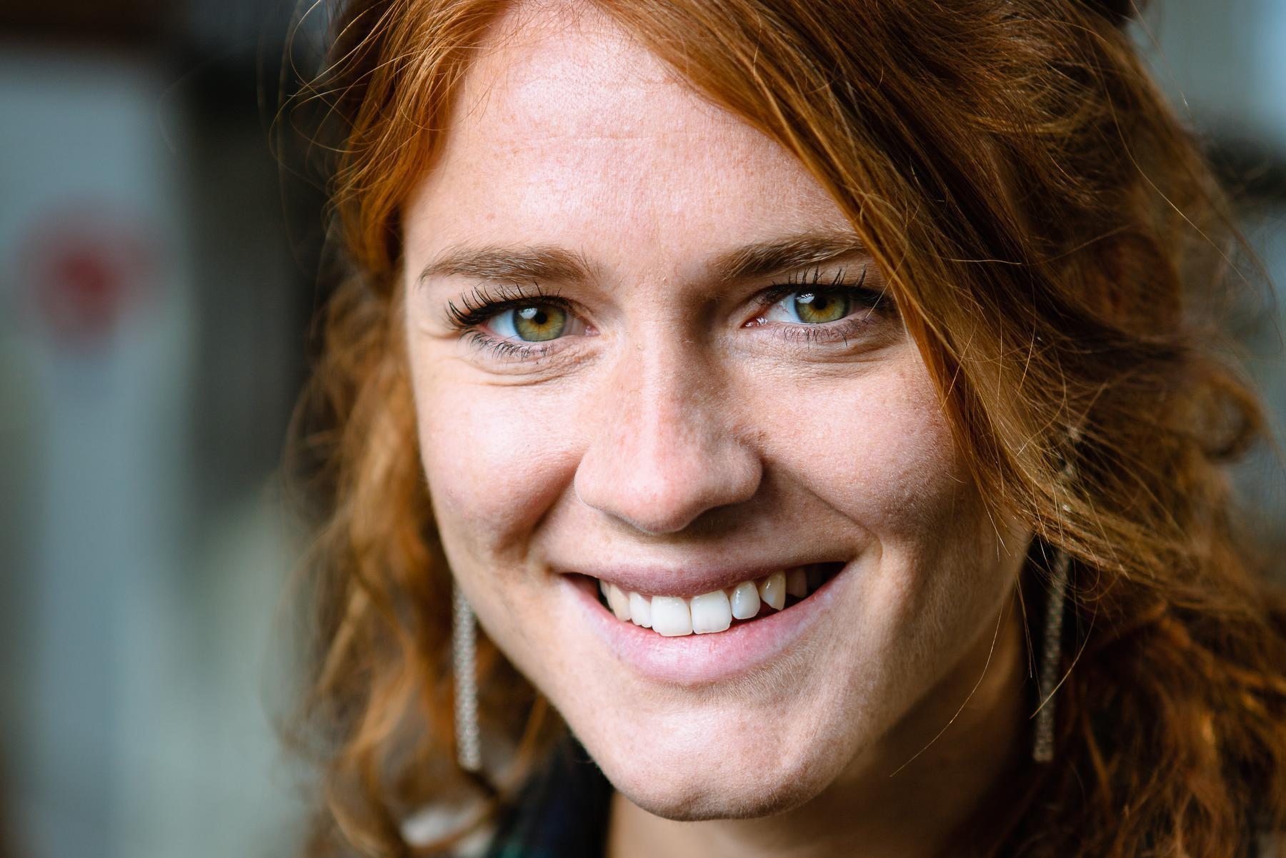 Axelle Dauwens zette vorige zomer een punt achter haar carrière, nu werkt ze voor productiehuis Woestijnvis. (foto Davy Coghe)