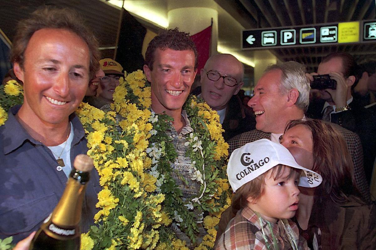 Luc Van Lierde over Hawaï 1996: