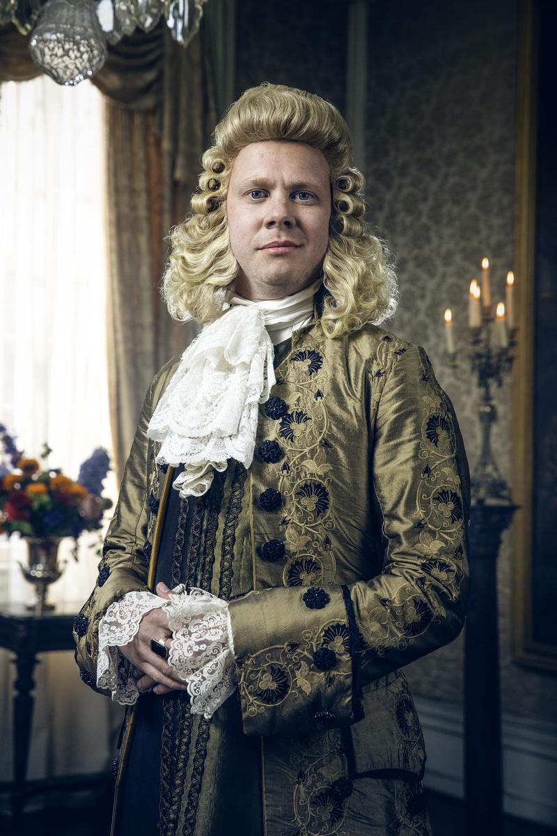 Rik Verheye als Nicolaï Van Gelderhode in de fictiereeks De Bende van Jan De Lichte. (Foto VTM)