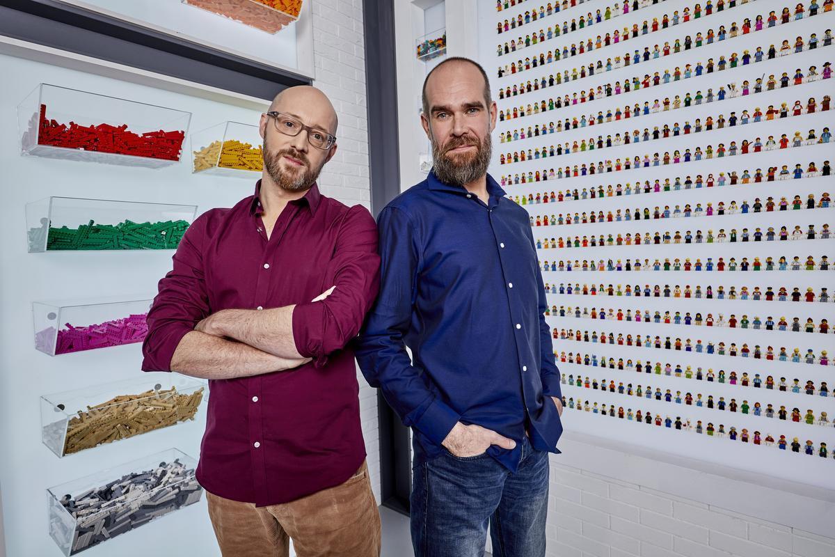 David uit Deinze en Giovanni uit Izegem vormen een duo. (Foto VTM)
