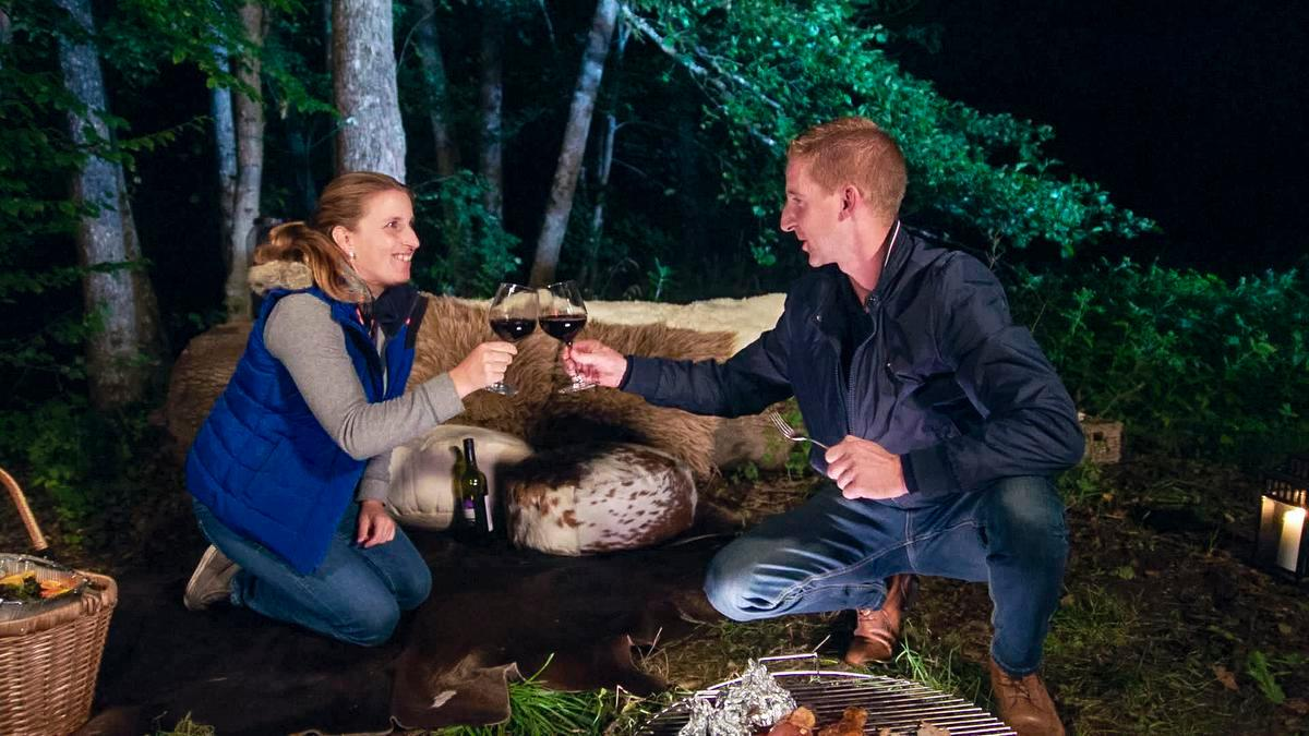 Op de romantische trip bleek dat er eerder vriendschap dan romantiek in de lucht hing. (Foto VTM)