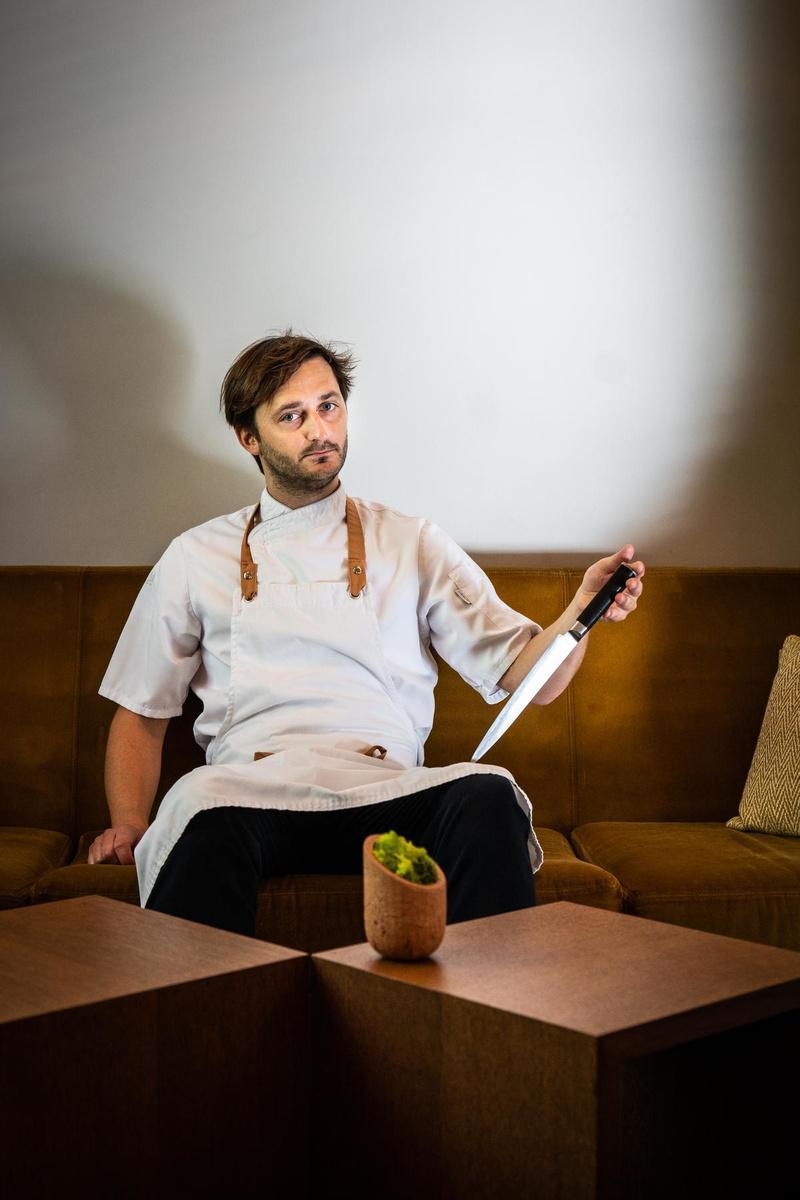 Guy Dresen verrast opnieuw in de keuken. (Foto Westtoer)