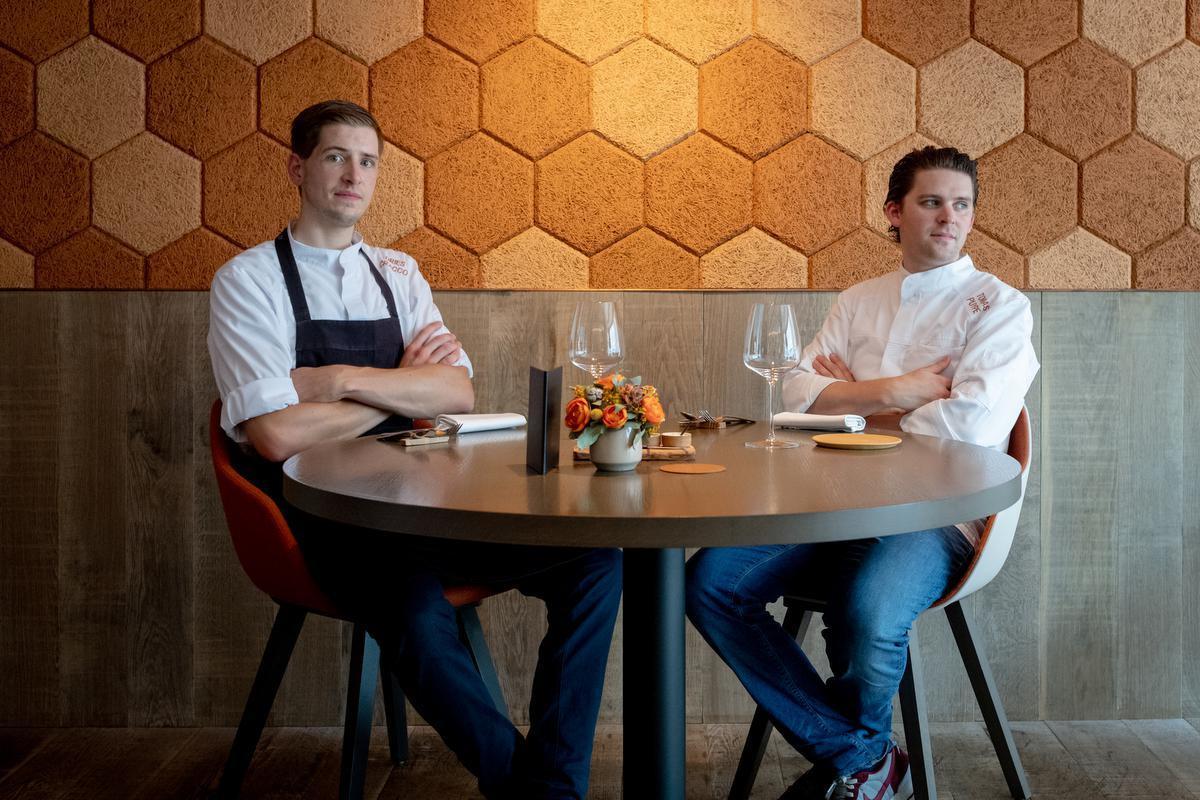 Tomas Puype en Dries Cracco brengen Frans-Belgische keuken op zijn best. (Foto Westtoer)