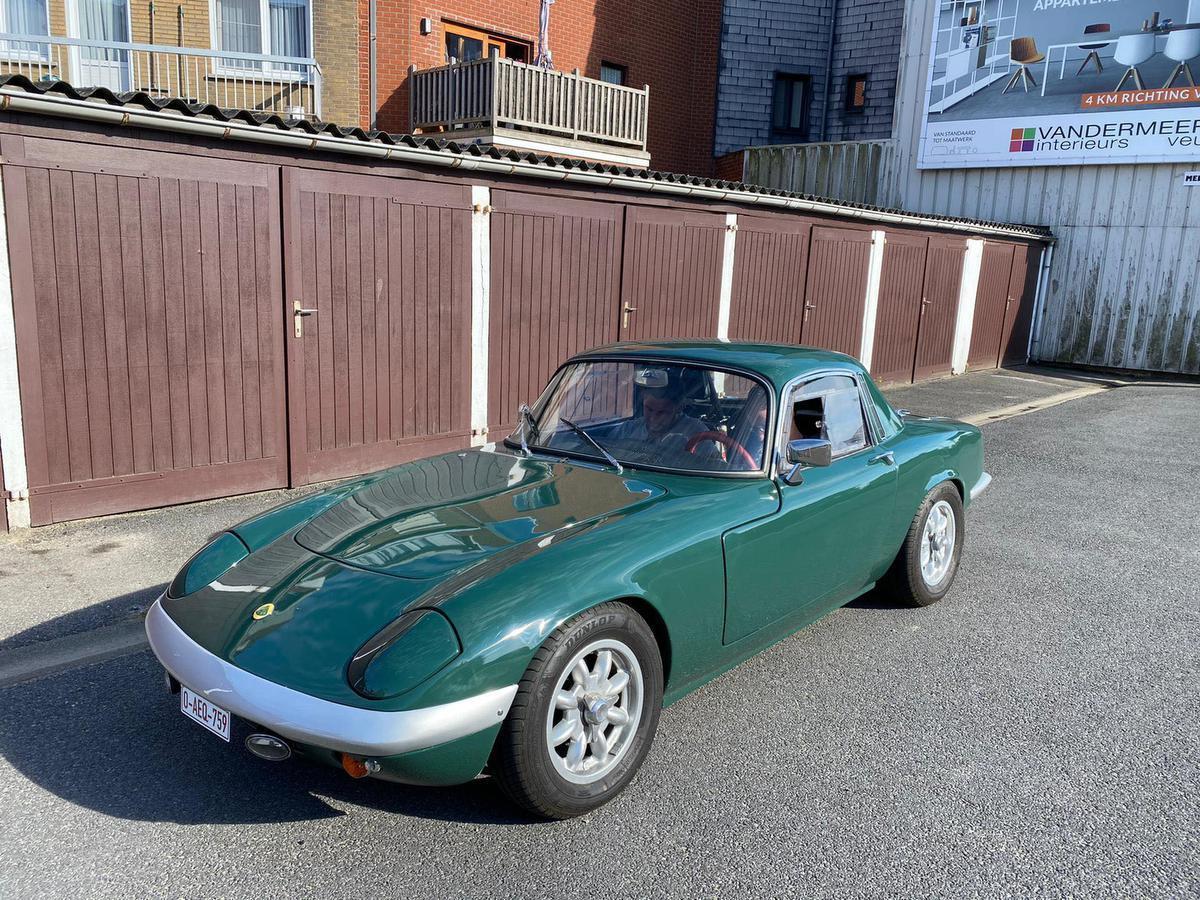 De zeldzame Lotus Elan uit 1967 in oorspronkelijke staat.