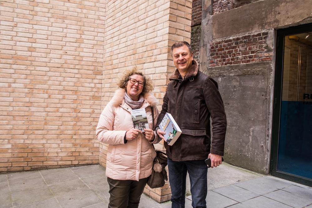 Caroline Staelens en Christian Ongenaert.