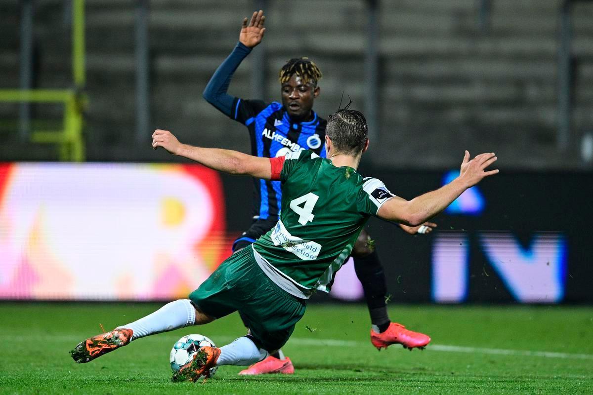 Vijfde nederlaag in zes wedstrijden voor youngsters van Club Brugge