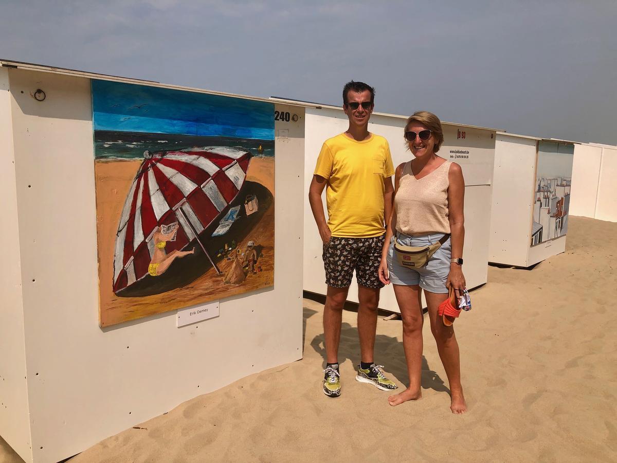 Matthieu Claus en Aline Noyelle (foto KVDM)