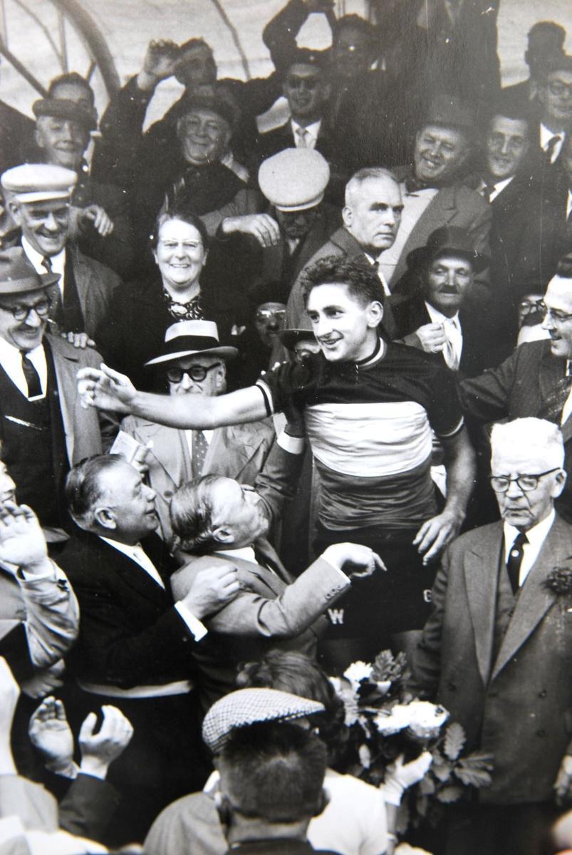 Frans De Mulder kroonde zich in 1960 tot Belgisch kampioen op de weg.