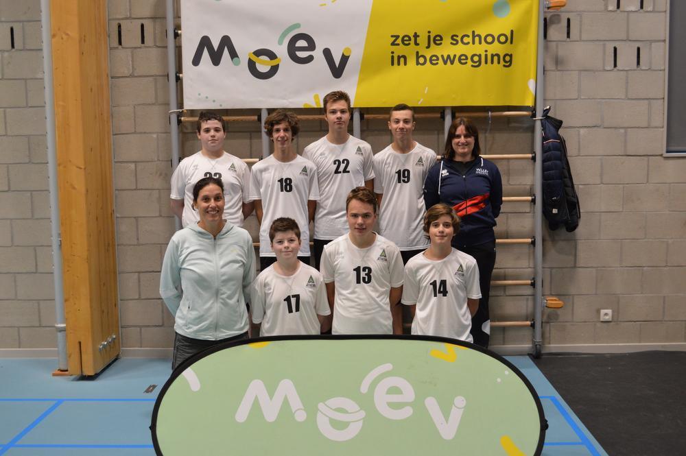 VMS Roeselare wint provinciale volleybalfinale bij scholieren