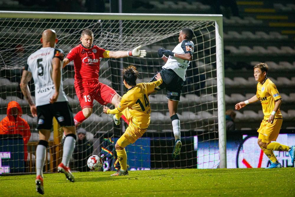 KSV Roeselare pakt drie gouden punten tegen Lokeren