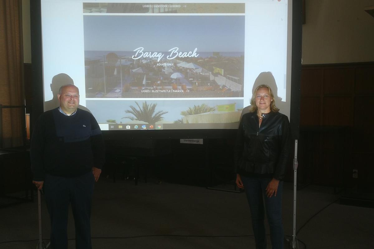 Online reserveren voor strand van Blankenberge bij boeken verblijf