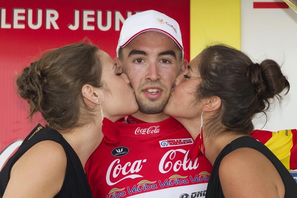 In 2014 en 2015 reed Louis Verhelst nog bij Cofidis. (Foto Belga)